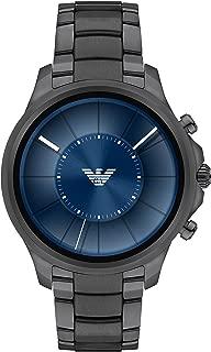 Emporio Armani Men's Smartwatch, Gunmetal Stainless Steel, ART5005
