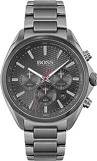 Hugo Boss Men's Analog Quartz Watch with Stainless Steel Strap 1513858