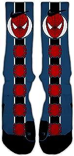 Avenger Inspired (Spiderman) Custom Elite Socks