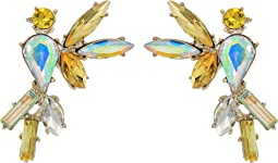 Betsey Johnson - Yellow and Gold Bird Stud Earrings