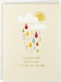 Hallmark Good Mail Thinking of You Card, Encouragement Card, Sympathy Card (Things Get Better)