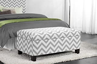 Best grey and white ottoman Reviews