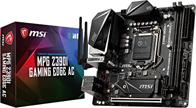 MSI MPG Z390I Gaming Edge AC LGA1151 (Intel 8th and 9th Gen) M.2 USB 3.1 Gen 2 DDR4 HDMI DP Wi-Fi Mini ITX Z390 Gaming Mot...