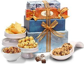Broadway Basketeers Snackers Heaven Gift Tower - Gift Basket