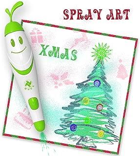 Spray Art Marker Electric Airbrush Marker Set, Air marker sprayer, Magic Sprayer Kids Boys Girls Toy Christmas Gift Children Gift C&Live