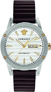 Versace Theros Automatic White Dial Men's Watch VEDX00119