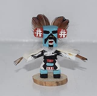 Miniature Eagle Dancer Kachina with Removable Mask