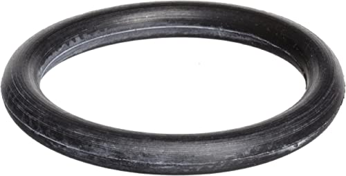 "010 Viton O-Ring, 75A Durometer, Black, 1/4"" ID, 3/8"" OD, 1/16"" Width (Pack of 100)"