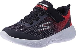 Skechers Australia GO Run 600 - FARROX Boys Training Shoe, Black Red, 7 US