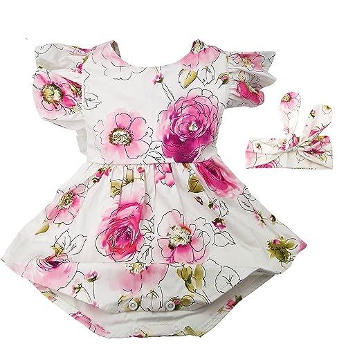 edc7b9d2dc0 Hollyhorse Newborn Baby Girl Rompers   Clothes