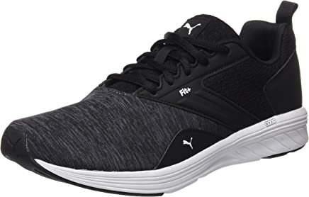 Puma Erkek NRGY Comet Spor Ayakkabı, Black/White (Çok Renkli)