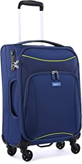 Antler 4263145026 Zeolite 4W Cabin Roller Case Carry-Ons (Softside), Blue, 56 cm