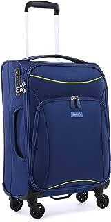 Antler 4263145026 Zeolite 4W Cabin Roller Case Carry-Ons (Softside), Blue, 56 cm