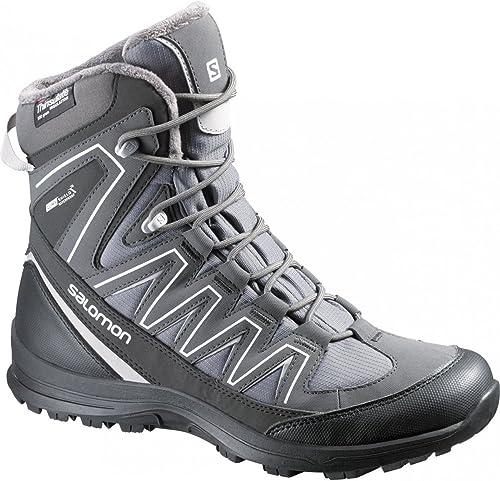 Salomon Salomon Chaussures d'hiver isco TS CS WP W Aluminium gris  le réseau le plus bas