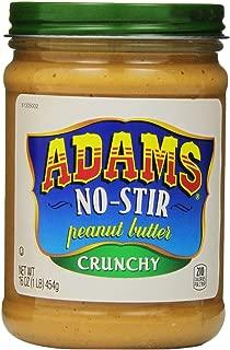 Adams, No-Stir Peanut Butter Crunchy, 16 oz