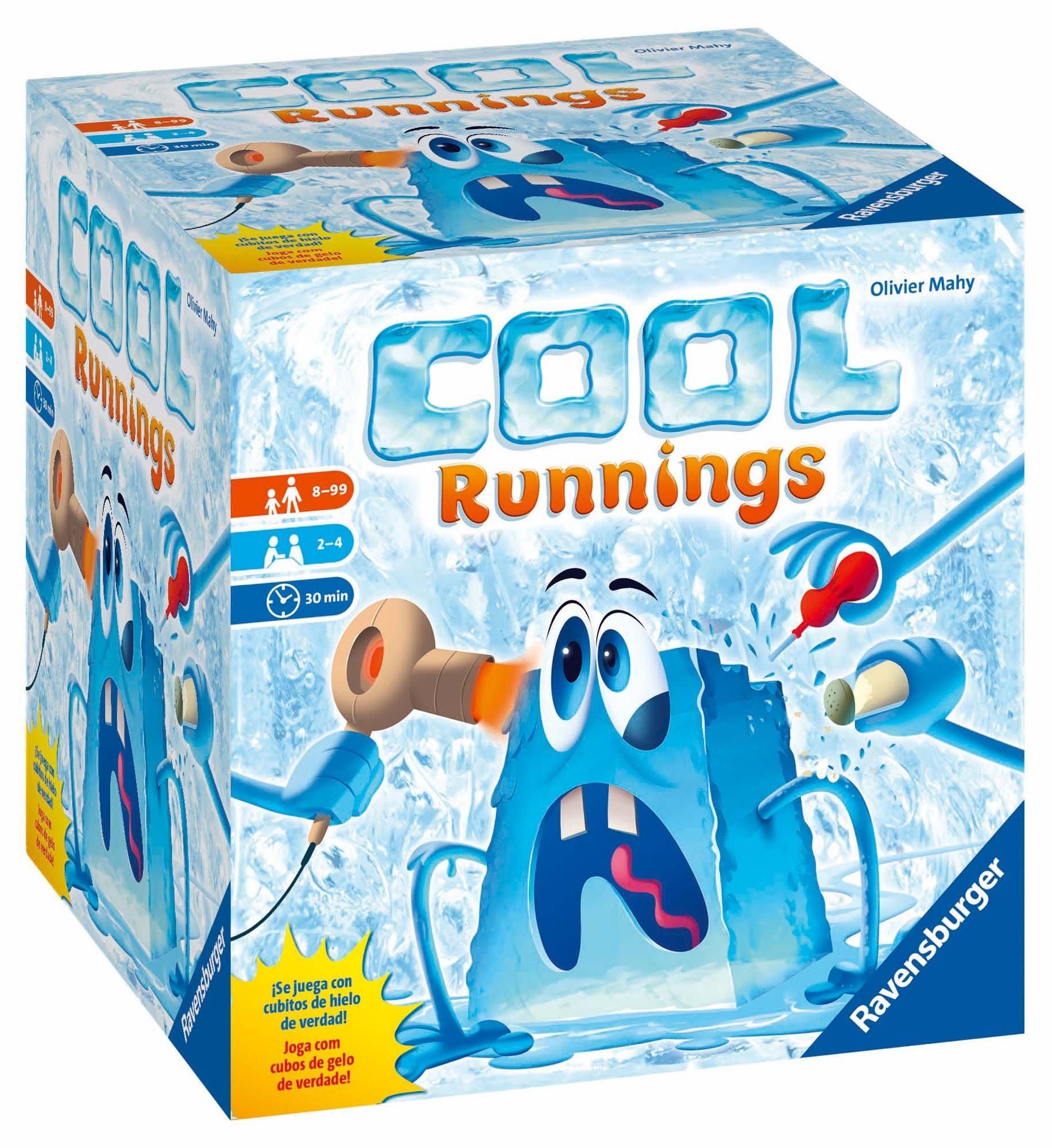 Ravensburger - Cool Running, juego de tablero, de 2 a 4 jugadores: Amazon.es: Juguetes y juegos
