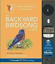 BACKYARD BIRDSONG GUIDE WESTERN NORTH AM (cl)