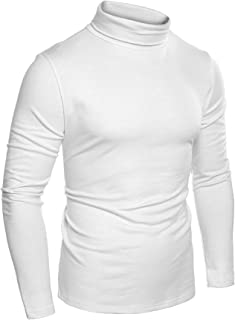 COOFANDY Men's Casual Basic Thermal Turtleneck T Shirts Slim Fit Pullover Sweaters