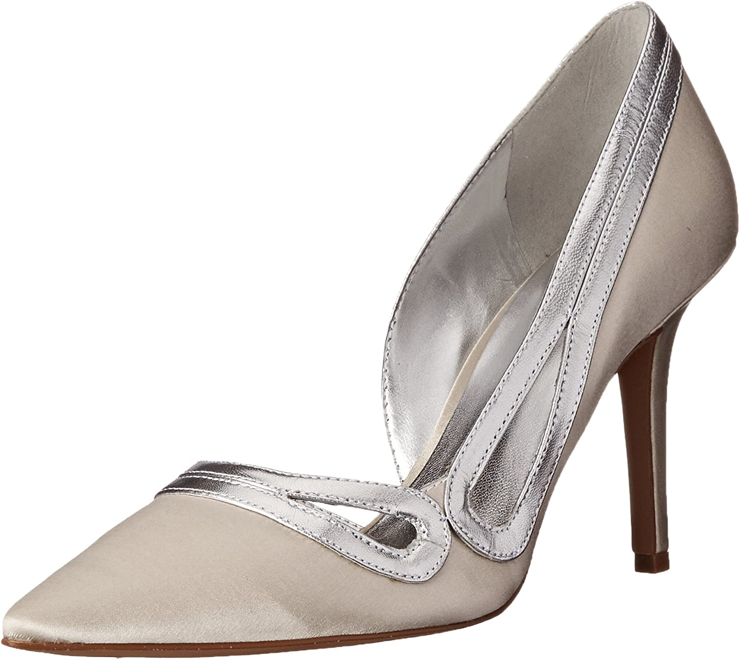 Nine West Women's Jiterbug Satin Dress Pump