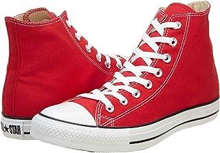 Converse Unisex Chuck Taylor Hi Basketball Shoe (3.5 Men 5.5 Women, Red)