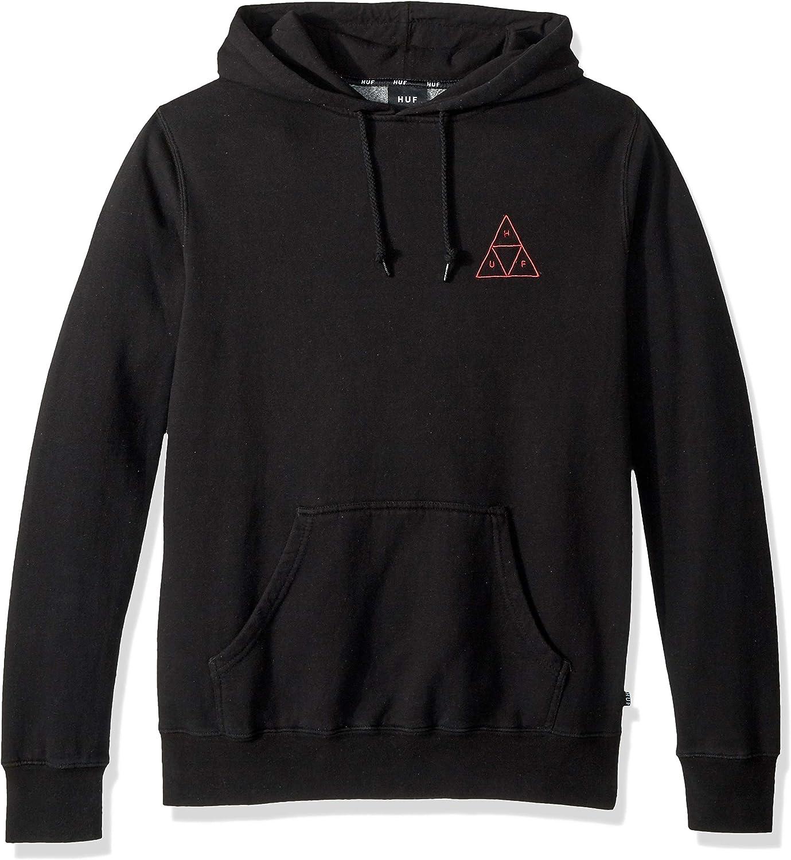 HUF Men's Tt Over-dye P O Hoodie Hooded Sweatshirt