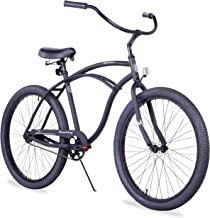 Firmstrong Urban Man Alloy Single Speed Beach Cruiser Bicycle, 26-Inch