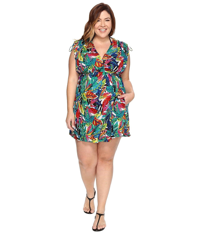 [ラルフローレン] LAUREN Ralph Lauren レディース Plus Size Rainforest Farrah Dress Cover-Up ドレス [並行輸入品]