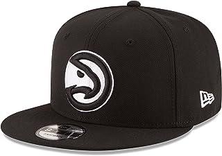 pretty nice 04062 1c7b1 New Era NBA Atlanta Hawks Men s 9Fifty Snapback Cap, One Size, Black