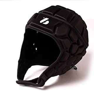 Barnett Heat Pro Helmet - Soft Padded Headgear - Rugby -Flag Football - Youth and Adult Sizing 7 on 7-7v7 Soft Shell- Epilepsy Head Fall Protection