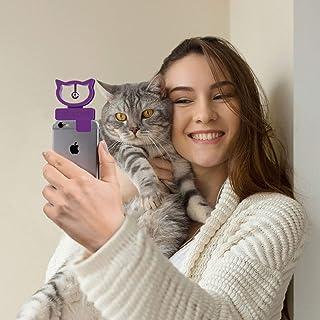 Bubblegum Stuff Cat Selfie Cat Toy Mobile Phone Accessory, Mini Portable Attachment for Phone Camera for Pet Selfies, Comp...