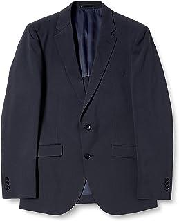 [タカキュー] ビジネス スーツ 2ボタン ストレッチ 洗えるスラックス シャドーチェック ネイビー 2ピース レギュラーフィット セットアップスーツ メンズ