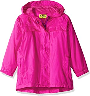 Western Chief Kids` Easy Zip-up Lined Rain Jacket