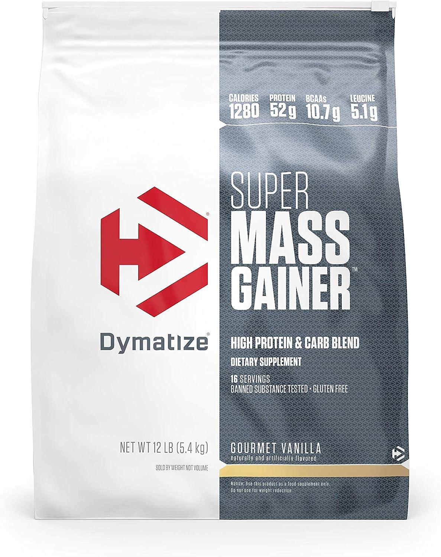 Dymatize New color Super store Mass Gainer Protein Calories P 1280 Powder 52g