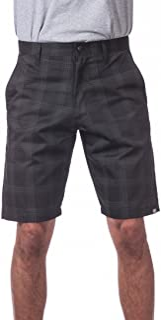 Pro Club Men`s Plaid Shorts
