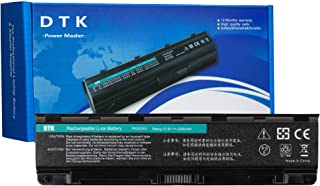DTK PA5024U-1BRS PA5026U-1BRS Laptop Battery Replacement for TOSHIBA Satellite C845 L850 L855 P855 R945 PA5023U-1BRS PA5025U-1BRS PA5027U-1BRS PABAS260 PABAS262 Notebook 10.8V 4400mAh 6 Cell