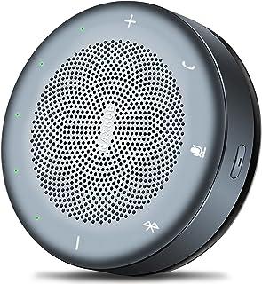MAXHUB BM11 Bluetooth Konferenzlautsprecher Vollduplex Audio USB Freisprecheinrichtung 360° Spracherkennung Echokompensation und Lärmreduzierung für Zoom Skype Teams
