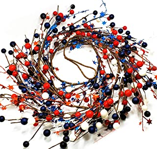 Best red white blue wreath Reviews