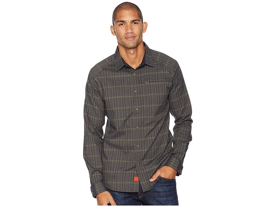Mountain Hardwear Stretchstone V Long Sleeve Shirt (Darklands) Men