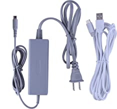 Austor Charger Kit for Wii U Gamepad - Supply AC Adapter Charging Cable with Charger Cord for Nintendo Wii U Gamepad