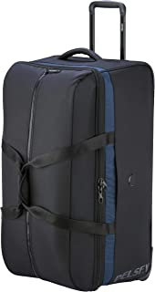 Delsey Paris 00322324000 Children's Softside Luggage, Black, 78 Centimeters