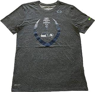 Nike The Tee Men's T-Shirts Seattle Seahawks Dri-Fit T-Shirt