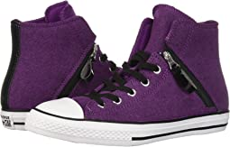 Converse kids chuck taylor all star shine hi little kid big kid ... 1c71f6318