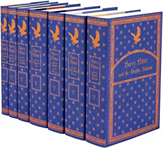Harry Potter Ravenclaw House Boxed Set | Seven-Volume Hardcover Book Set with Custom Designed Juniper Books Dust Jackets |...