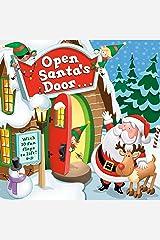 Open Santa's Door: A Christmas Lift-the-Flap Book Board book