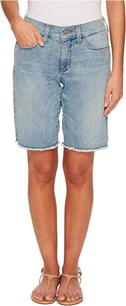 NYDJ Petite - Petite Briella Shorts w/ Fray Hem in Westland