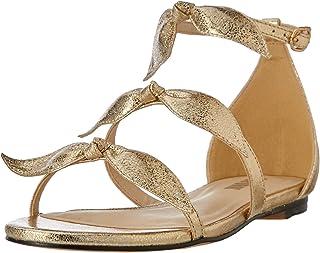 Oxford Women's Nala Metallic Bow Sandal Gold