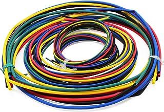 WiMas 55M Tubo termoencogible clasificado 11 tamaños Paquete de Manguito de Aislamiento de 6 Colores