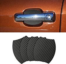 Door Handle Trim Magnetic Door Cup Paint Scratch Protector Cover Accessories for Toyota Tundra (4 Pcs)