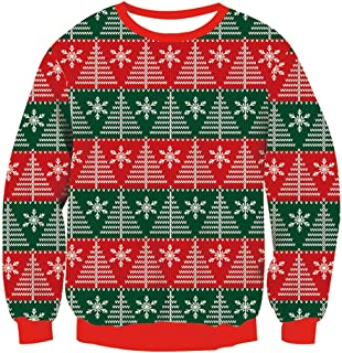de la marca Threadbare Jers/éis de punto con dise/ño gracioso de Navidad para adultos