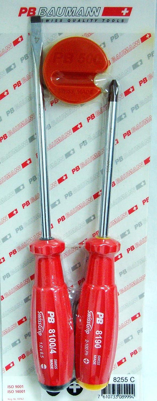 3 PCS professionelle Schraubendreher Schlitz, Phillips, Werkzeug Magnetisierer Set – Swiss B013GUJ09W | Elegant und feierlich